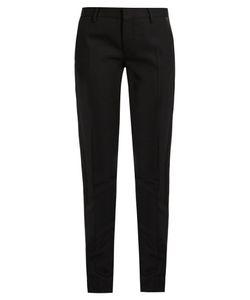 Saint Laurent | Le Smoking Skinny Wool Trousers