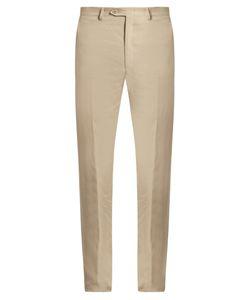 Brioni | Slim-Fit Linen Trousers