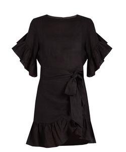 Isabel Marant Étoile   Delicia Ruffled Linen Mini Dress