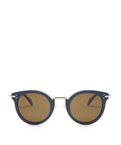 CÉLINE SUNGLASSES | Lea Round-Frame Sunglasses