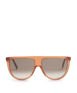 CÉLINE SUNGLASSES | Shadow Flat-Top Sunglasses