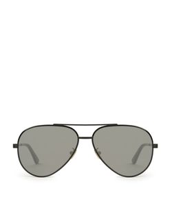 Saint Laurent | Zero Aviator-Frame Sunglasses