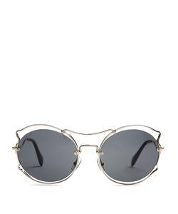 Miu Miu | Cat-Ear Shaped Sunglasses