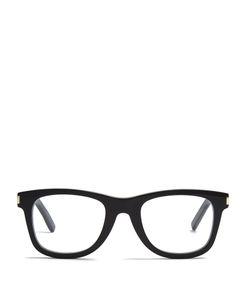 Saint Laurent   Flat-Top D-Frame Glasses