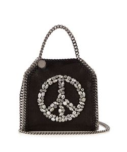 Stella Mccartney | Falabella Tiny Faux-Suede Cross-Body Bag