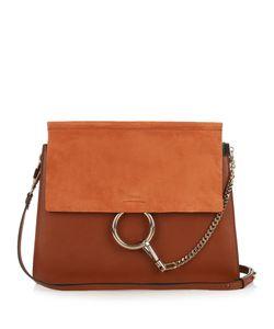 Chloe | Faye Medium Suede And Leather Shoulder Bag