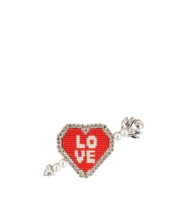 Shourouk | Emojibling Heart Love Brooch