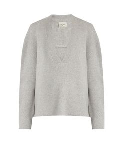 Le Kasha | Moscow Deep V-Neck Cashmere Sweater
