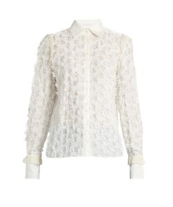 See By Chloe | Lace-Back Fil Coupé Shirt