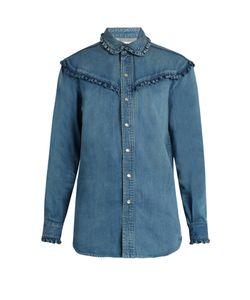 Saint Laurent | Ruffle-Trimmed Shirt