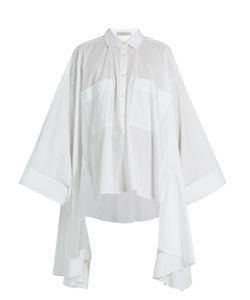 PALMER/HARDING | Poet Patch-Pocket Cotton-Blend Shirt