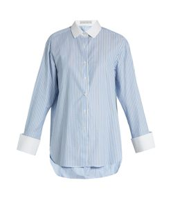 PALMER/HARDING | Striped Cotton Shirt