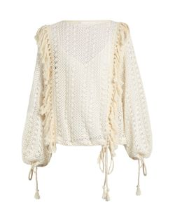 See By Chloe | Crochet-Lace Top