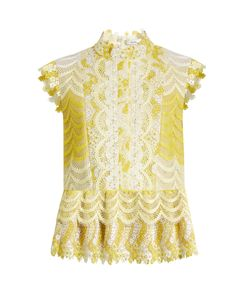 Erdem | Sam Degradé Guipure-Lace Blouse