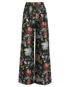 Adam Lippes | -Jacquard Wide-Leg Trousers