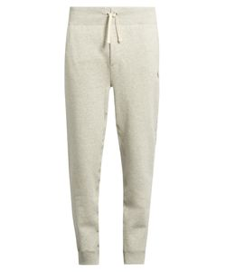 Polo Ralph Lauren   Drawstring-Waist Cotton-Blend Track Pants
