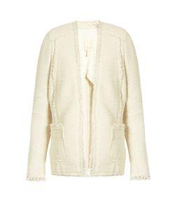 Rebecca Taylor | Sparkle Stretch-Tweed Blazer