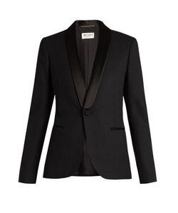 Saint Laurent | Le Smoking Single-Breasted Wool Jacket