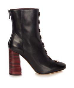 Ellery | Esmond Stud-Embellished Leather Ankle Boots