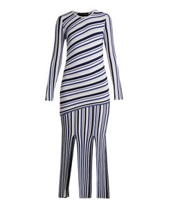TABULA RASA | Theia Long-Sleeved Striped Dress