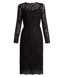 Dolce & Gabbana | Cordonetto-Lace Fitted Dress