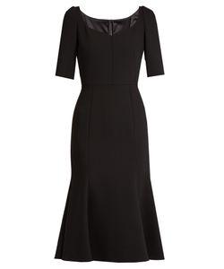 Dolce & Gabbana | Armaturato Stretch-Wool Flared Dress