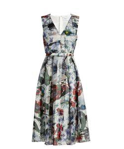 Erdem | Kuni Yuki Garden-Print Organza Dress