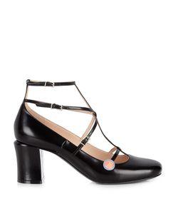 Fendi | Mary-Jane Leather Pumps