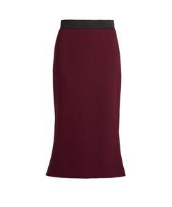 Dolce & Gabbana | Wool-Crepe Midi Skirt