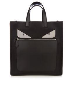 Fendi | Bag Bugs Nylon And Leather Tote