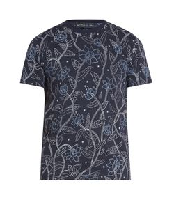 Etro | -Print Cotton T-Shirt