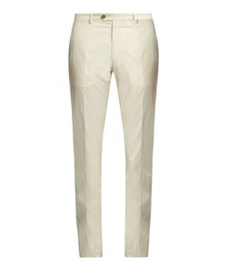 Etro | Straight-Leg Cotton-Blend Chino Trousers