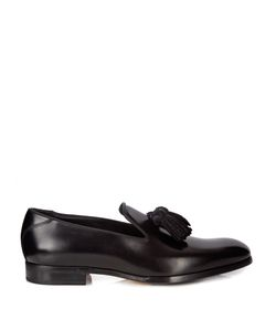 Jimmy Choo | Foxley Tassel Leather Loafers
