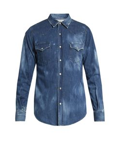 Saint Laurent | Distressed Shirt