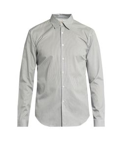 Burberry | Geometric-Print Button-Cuff Cotton Shirt