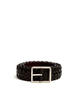 Paul Smith | Woven Leather Belt