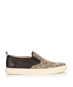 Gucci | Gg Supreme Tiger-Print Low-Top Trainers