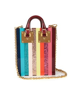 Sophie Hulme | Compton Rainbow Striped Bag