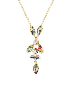 Isabel Marant | Marley Enamel Bird Drop Necklace