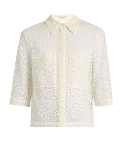 Stella Mccartney | Short-Sleeved Lace Shirt