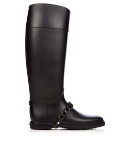 Givenchy | Chain Rubber Rain Boots