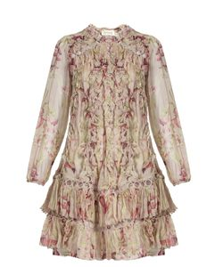 Zimmermann | Winsome Sphere Print Silk Dress