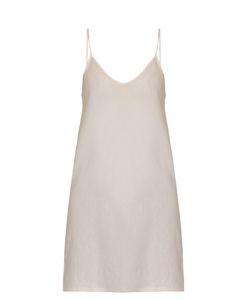 Skin | Scoop-Neck Cotton Slip Dress