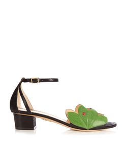 Charlotte Olympia | Innocent Block-Heel Sandals