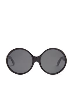 Saint Laurent | Round-Frame Acetate Sunglasses