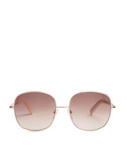 TOM FORD SUNGLASSES | Georgina Metal Sunglasses