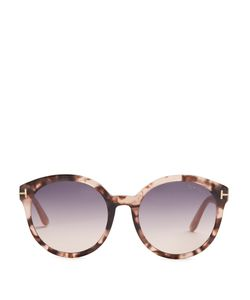 TOM FORD SUNGLASSES | Philippa Round-Frame Acetate Sunglasses