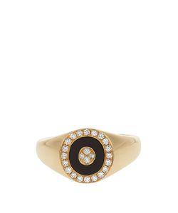 ANISSA KERMICHE | Diamond Onyx Yellowring