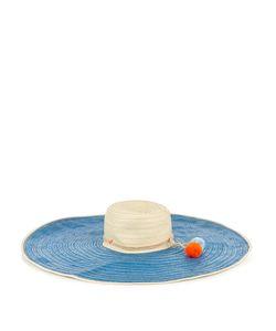Sophie Anderson | Corozon Pompom-Embellished Raffia Hat
