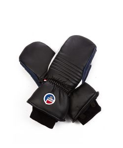 FUSALP | Askell Fleece-Lined Leather Mittens